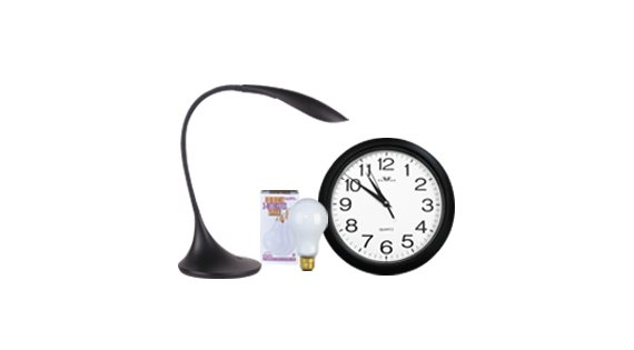 Lampes et horloges