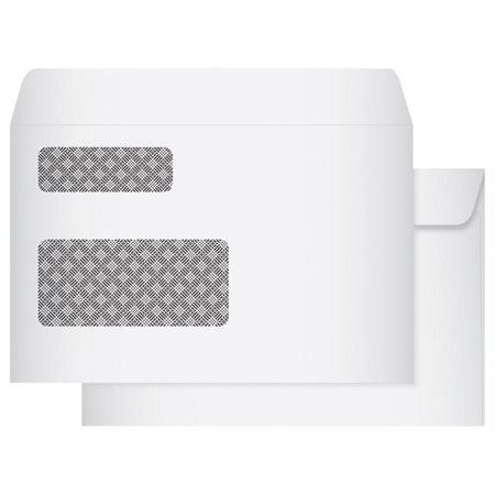 Enveloppe blanche à fenêtre pour T-4 Fenêtre double bte 500