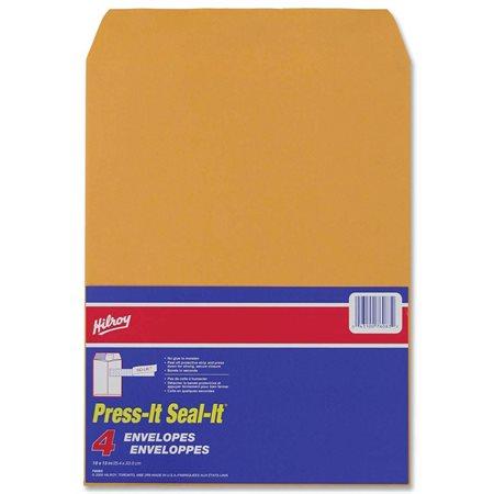 Enveloppe kraft Press-it Seal-it® 10 x 13 po. (4)