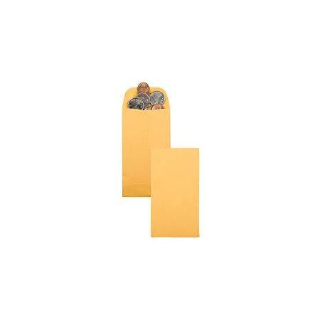 Enveloppe pour pièces de monnaie #1, 2-1 / 4 x 3-1 / 2 po, 24 lb