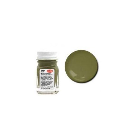 Flat Olive armée émail, 7.4 ml