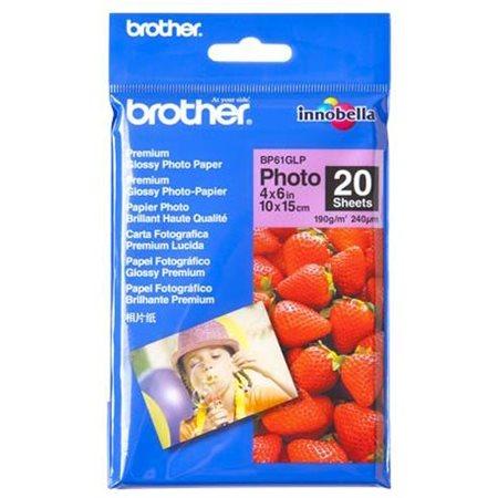 PAPIER PHOTO BROTHER PREMIUM 4X6