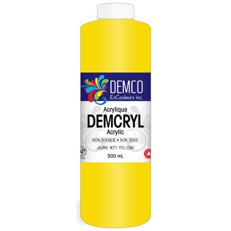 Peinture acrylique Demcryl 500 ml; orange