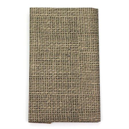 Ensemble papier de soie: jute