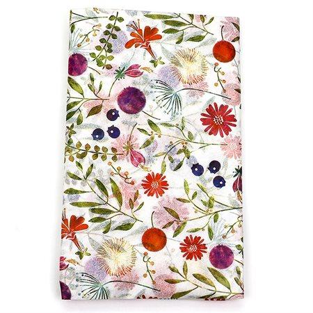 Ensemble papier de soie: Fleurs pêle-mêle