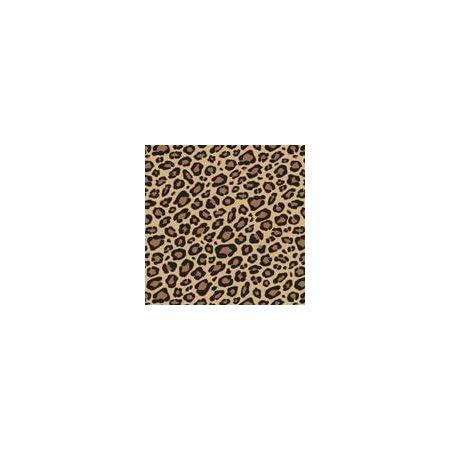 Ensemble papier de soie: léopard