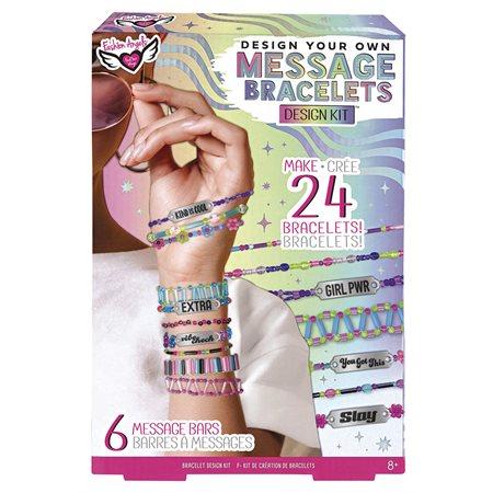 Ensemble De création de bracelets message