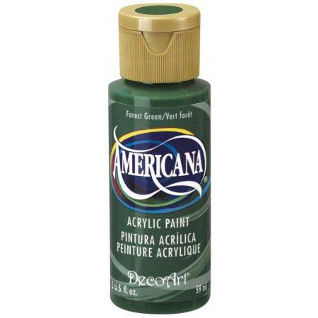 Peinture acrylique Americana 2 oz - Vert forêt