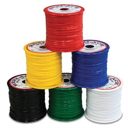 6 rouleaux de corde plastique couleur primaire