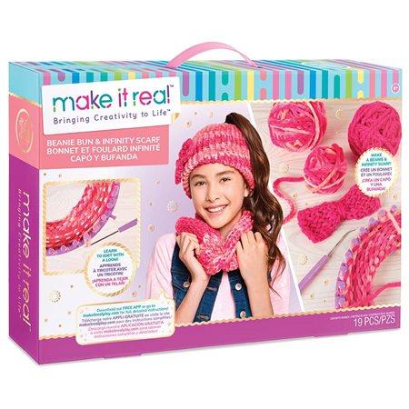 Make it real - Bonnet et foulard infinité