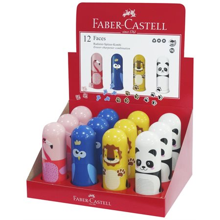 Taille-crayon animaux assortis
