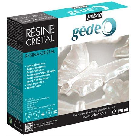 Résine cristal Gédéo (150 ml)