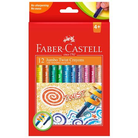 Crayon de couleur jumbo twist