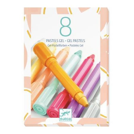 Pastels Gel - 8 Couleurs Corail