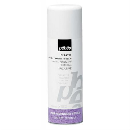 Fixatif Pastel Fusain Pébéo- 200 ml