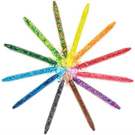 Crayon de cire confetti