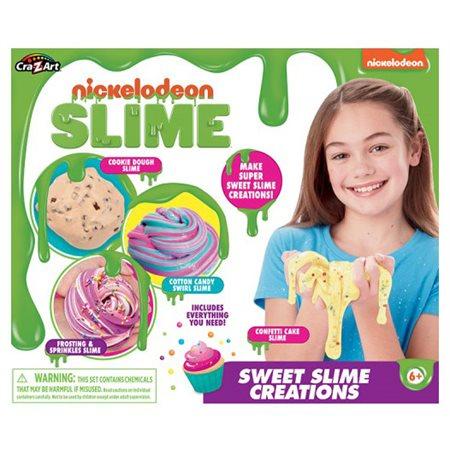 Nickelodeon Slime Créations sucrées gluante