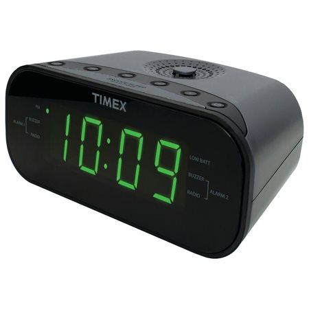 Radios réveil Timex noir