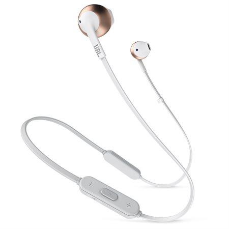 Écouteurs sans fil - Tune 205Bt or rose