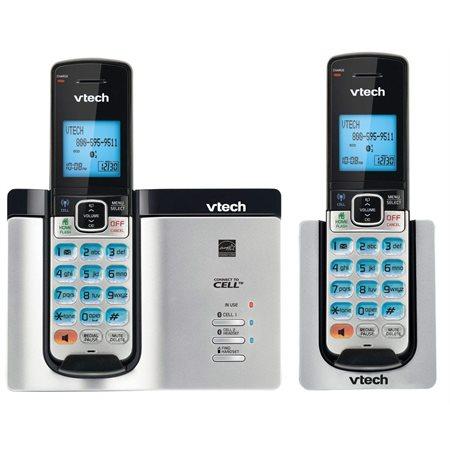 Téléphone VTech sans fil 2 combinés