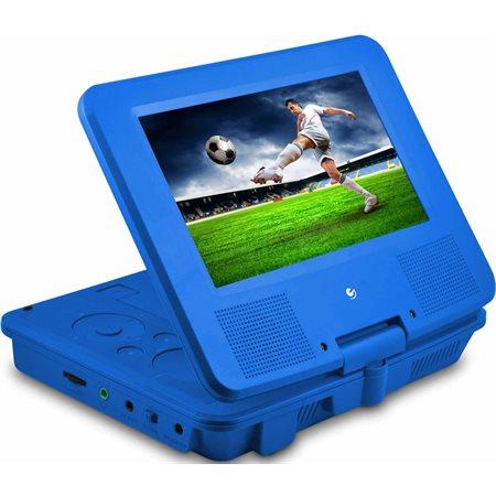 """Lecteur DVD portatif Ematic 7"""" - Bleu"""