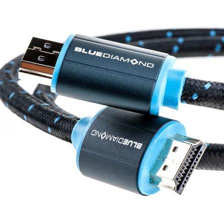 Premium HDMI 4k UltraHD Cable, (3')