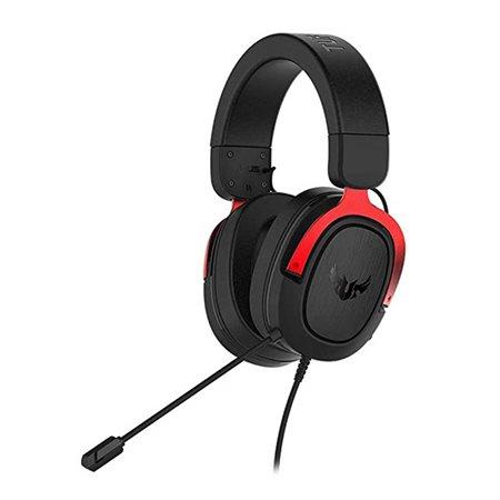 Casque  Asus TUF Gaming H3 rouge