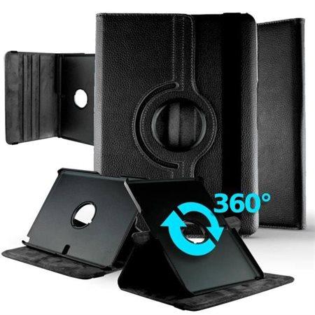 Étui rotatif pour Samsung Tab E 9.6'' noir