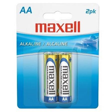 Pile Maxell AA paquets de 2