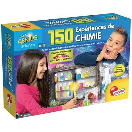 Petit Génie- 150 expérience de chimie