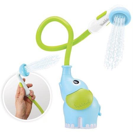 Douche de bain pour bébé - Éléphant bleu
