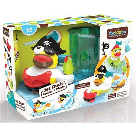 Jet canard pour le bain - Créez un pirate!