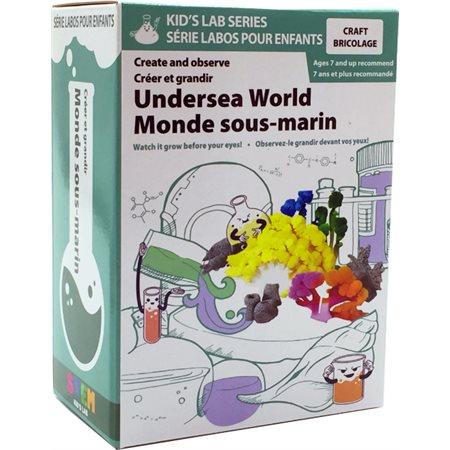Série Labos pour enfants - Le monde sous-marin