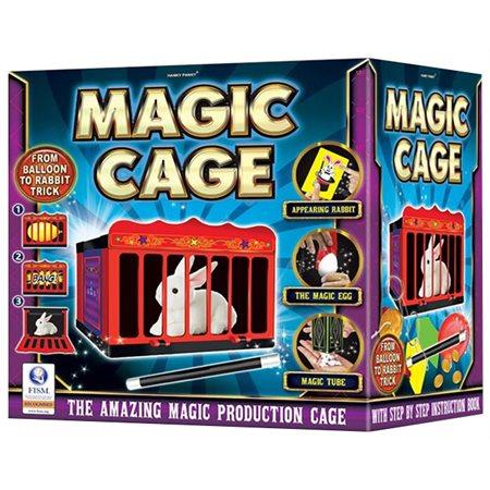 La cage magique (Bilingue)