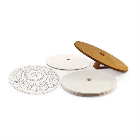 Toupie centrifuge en bois