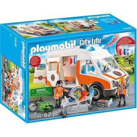 Ambulance et secouristes