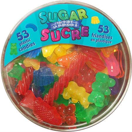 La fabrique à sucre - Bol de 53 friandises
