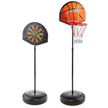 Jeu de basket-ball et fléchettes magnétiques 2 en 1