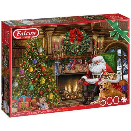 Casse-tête: Père Noël à l'arbre de Noël (500)