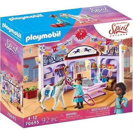 Playmobil Spirit - Boutique d'équitation de Mirado