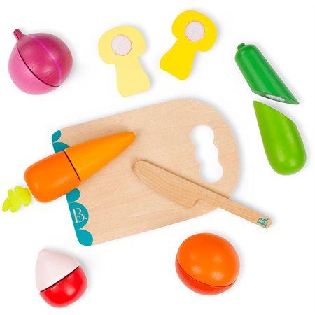 """Ensemble de légumes à couper """"Chop 'N' Play''"""