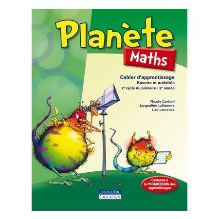 Planète maths 4e année cahier