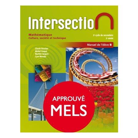 Intersection, manuel de l'élève B sec.4