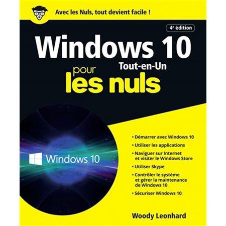 Windows 10 tout-en-un pour les nuls ( 4e ed.)