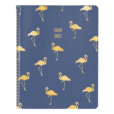 Agenda académique mensuelle Funsie Flamingo