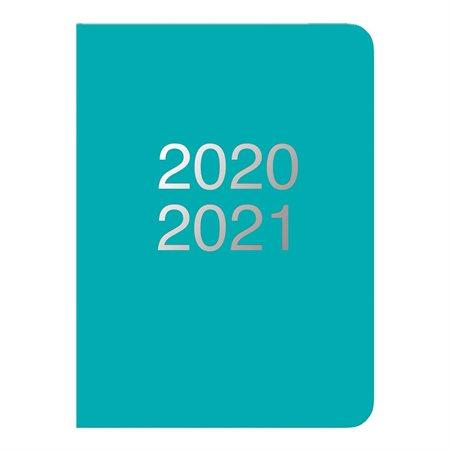 Agenda académique quotidien Dazzle turquoise