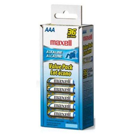 PILE MAXELL ALCA. 1.5V AAA PQT 36