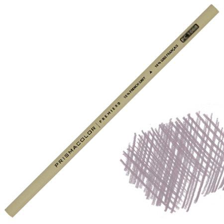 Crayon de couleur vert gris pâle