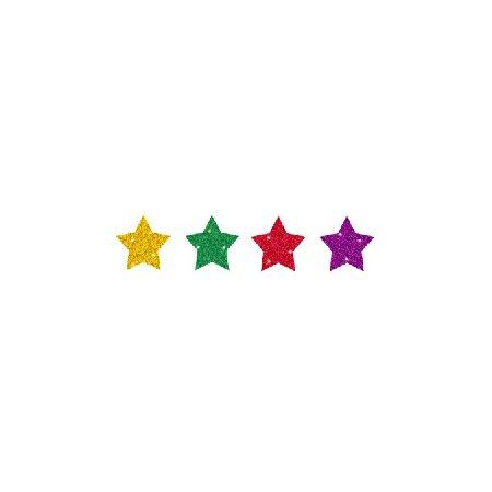Collants de motivation - Étoiles multicolores