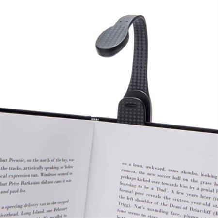 Lampe de lecture fléxible extra noir à point